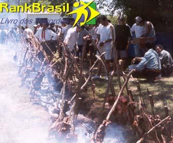 Maior churrasco do Brasil