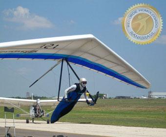 Maior distância voando de asa-delta