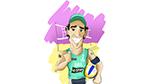 Único a disputar as cinco edições olímpicas do vôlei de praia masculino