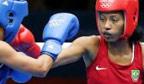 Primeira brasileira a lutar boxe em Olimpíadas