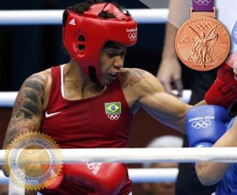Primeira medalha do boxe feminino em Olimpíadas