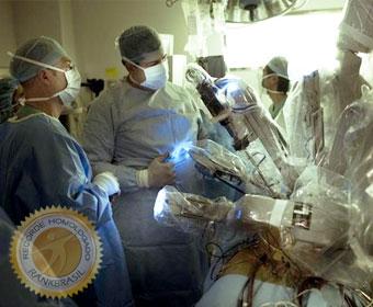 Primeira cirurgia cardíaca minimamente invasiva totalmente robotizada