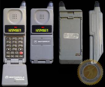 Primeiro celular comercializado no Brasil