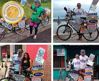 Mais rápida trajetória de bicicleta feita por todas as capitais do Brasil