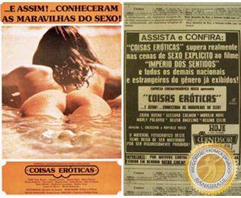 Primeiro filme pornográfico brasileiro