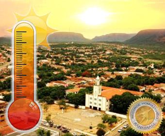 Maior temperatura registrada no Brasil por órgão oficial nacional