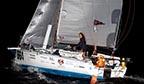 Primeira brasileira a cruzar o Atlântico em navegação solo
