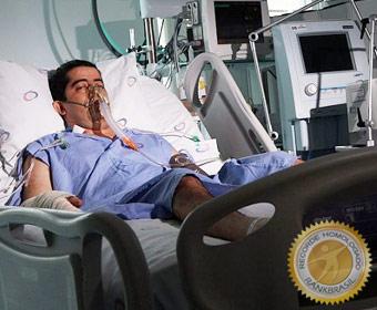 Primeiro brasileiro a receber pulmões recondicionados