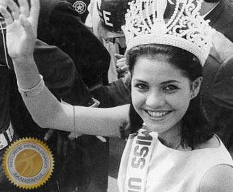 Primeira brasileira eleita Miss Universo