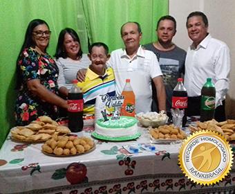 Mais idoso com Síndrome de Down do Brasil