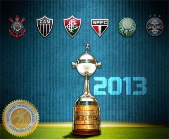 Maior número de clubes brasileiros nas oitavas de final da Libertadores