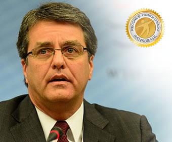 Primeiro brasileiro a comandar a OMC