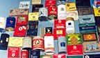 Maior coleção de embalagens de cigarros