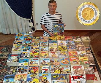 Maior coleção de Tex Willer