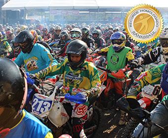 Maior encontro de trilheiros de motos e quadriciclos