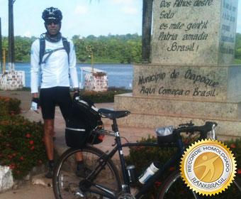 Mais rápida travessia de bicicleta do Oiapoque ao Chuí