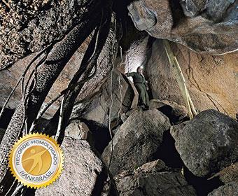 Maior gruta de granito