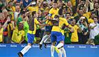 Primeiro ouro olímpico no futebol masculino
