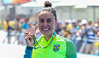 Primeira medalha olímpica feminina na natação