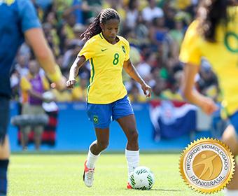 Brasileira com maior participação em Olimpíadas