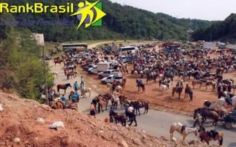 Maior cavalgada do Brasil