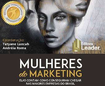 Livro escrito pelo maior número de mulheres profissionais do marketing
