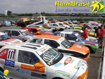 Maior grid de carros de turismo