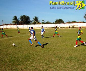 Maior campeonato de futebol amador entre municípios