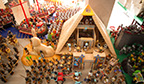 Maior coleção de playmobil