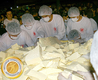Maior queijo minas frescal
