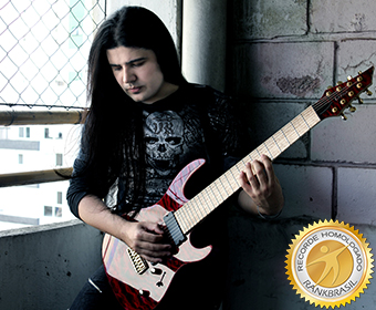 Guitarrista mais rápido do Brasil