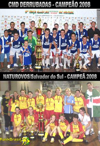 Maior campeonato de futsal adulto