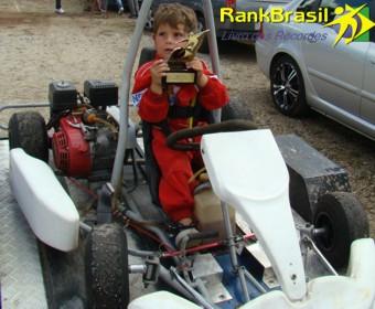 Mais jovem piloto de kart