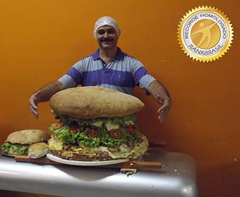 Maior sanduíche do Brasil