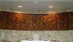 Maior escultura Santa Ceia entalhada em madeira