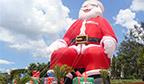 Maior Papai Noel inflável