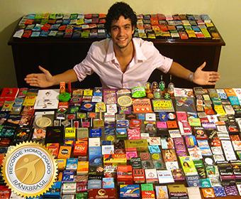 Maior coleção de preservativos
