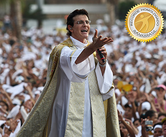 Maior público em gravação ao vivo de DVD religioso