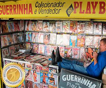 Maior coleção de revistas Playboy do país