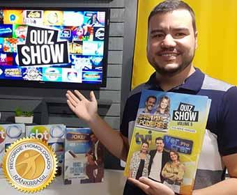 Maior número de perguntas e respostas transcritas de programas de TV
