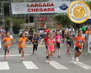 Corrida de rua infantojuvenil mais realizada