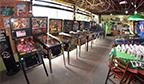 Maior coleção de máquinas pinball do mesmo produtor em funcionamento