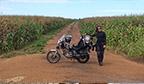 Maior percurso feito com moto de baixa cilindrada