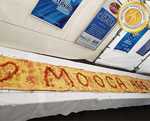 Pizza mais longa do Brasil