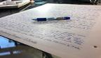 Maior número de canetas usadas em um desafio