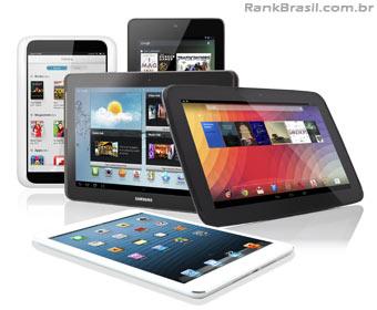 Venda de tablets mais que triplica no Brasil em 2012