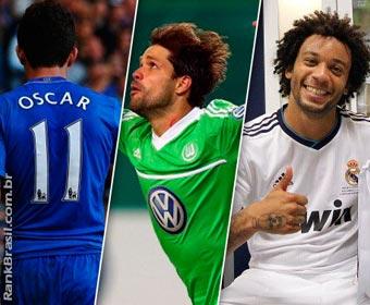 Brasileiros continuam maioria entre estrangeiros no futebol da Europa