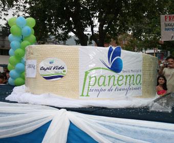 Ipanema vai produzir queijo de 1,5 t e doce de leite com mais de 300 kg