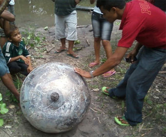 Objeto não identificado cai do céu e causa polêmica no Maranhão