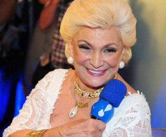 Hebe Camargo é uma das apresentadoras mais idosas da televisão brasileira